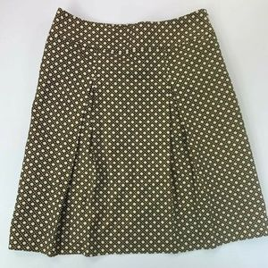 Talbots Women's Size 6 Pleated Lined Skirt